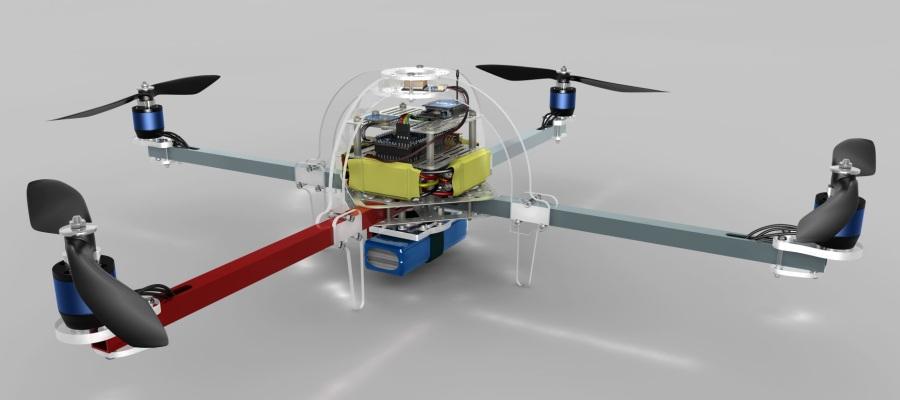 como hacer un drone