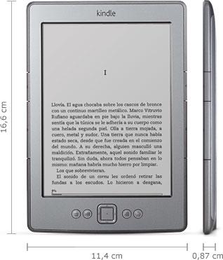 Lector de libros electrónico Kindle 4 de Amazon