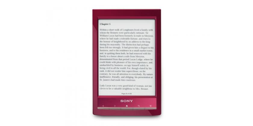 Lector de libros electrónicos Sony PRS-T1