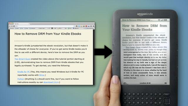 Enviar artículos al kindle desde móvil y tablets
